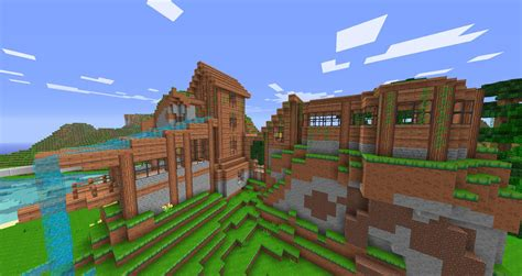 minecraft house guide guide how to respond to terrain when building minecraft