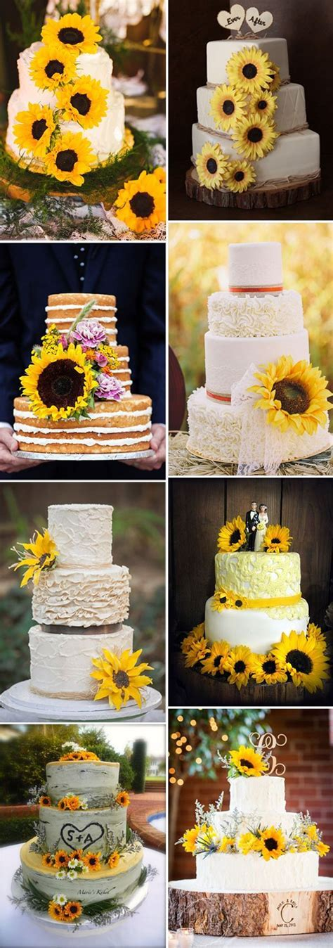Wedding Cake Ideas For Fall by 25 Best Ideas About Yellow Wedding Cakes On