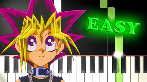 music theme yugioh yu gi oh theme song easy piano tutorial chords chordify