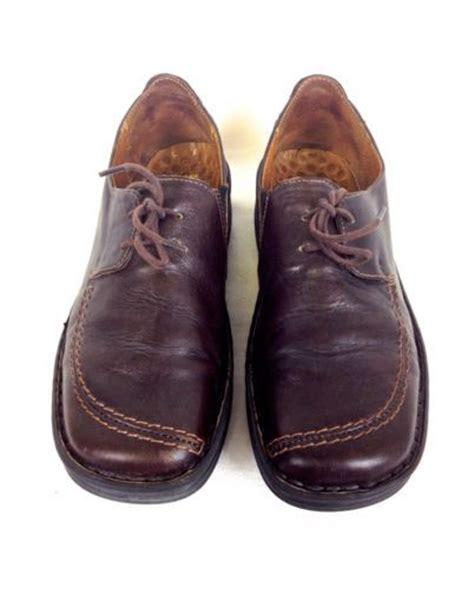 german comfort shoes josef seibel shoes leather brown comfort lace up german
