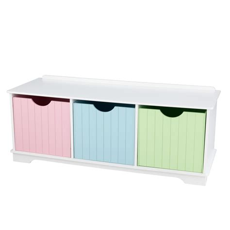 nantucket bench nantucket storage bench pastel children s toys in