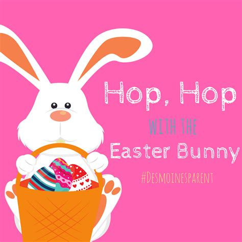 Barnes And Noble Event Calendar Hop Hop With The Easter Bunny Des Moines Parent