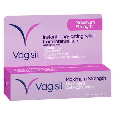 Vagisil Feminine Itching Medication 25gr vagisil anti itch creme walgreens