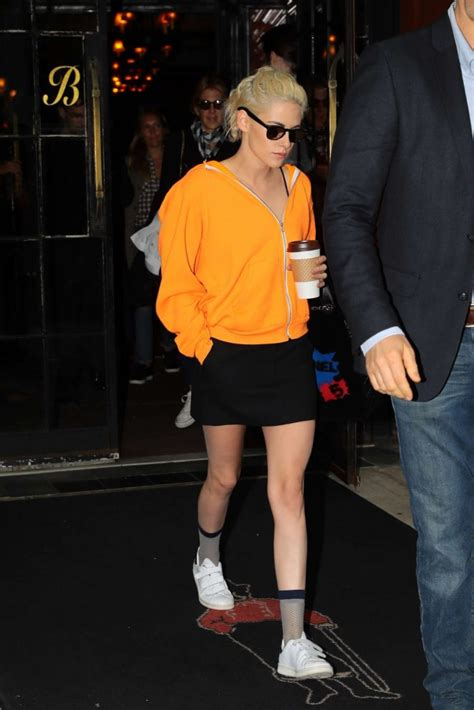10 Kristen Stewart In Minis Sizzling Looks by Kristen Stewart In Black Mini Skirt 10 Gotceleb