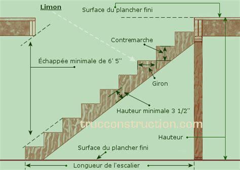 Largeur D Une Marche D Escalier by Les Escaliers Dans Une Maison
