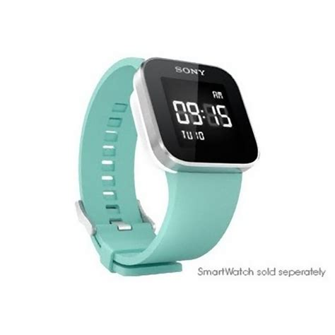 Smartwatch Rubber Blue sony watchband rubber band wristband for smartwatch