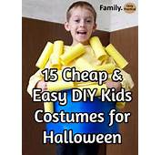 15 Cheap And Easy DIY Kids Costumes For Halloween