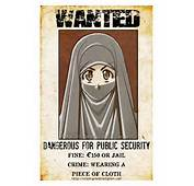 Wanted Muslimah Niqabi Women Very Dangerous  Picture Perfect ISLAM