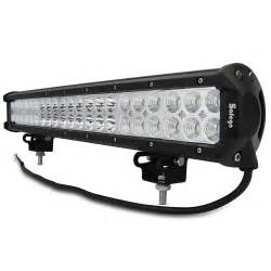 Light Bar For Trucks Led 1pcs 20 126w Cree Led Work Light Bar With Wires Near Far Offroad Truck 4wd 4x4 Led Spotlights