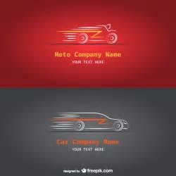 car and moto company logos vector free download