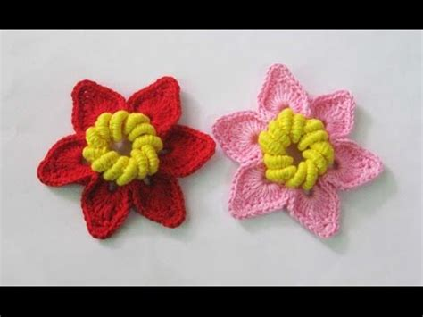 Rajut Garis crochet tutorial merajut square flower