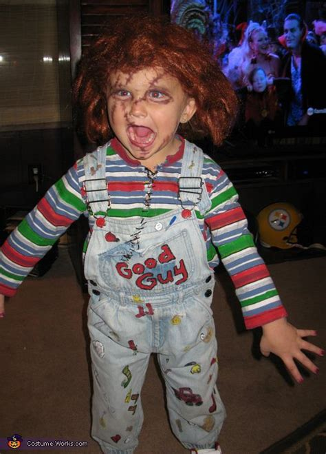 diy chucky costume halloween costume toddler homemade