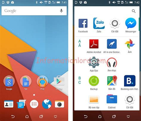tutorial android launcher how to install android m launcher on android phone