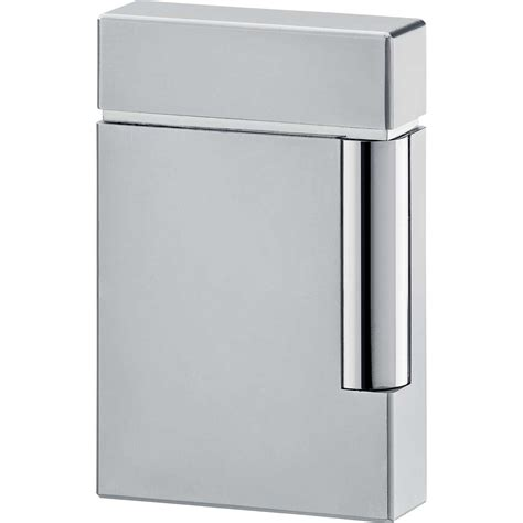 St Dupont Lighter st dupont ligne 8 lighter chrome grey