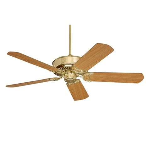 Polished Brass Ceiling Fans by Emerson Cf755pb Designer Ceiling Fan In Polished Brass