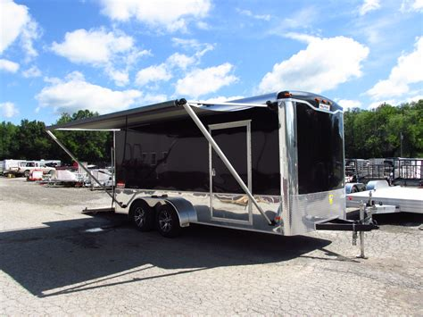 Cargo Trailer Awning by Trailer Customization