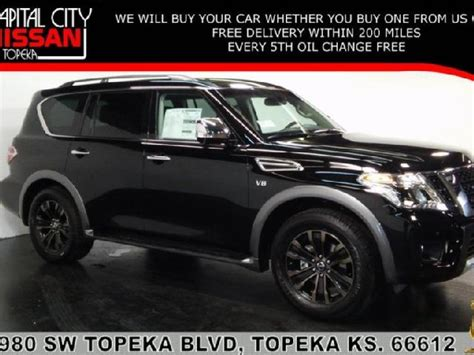 nissan armada 2017 black ks nissan armada used cars in topeka mitula cars