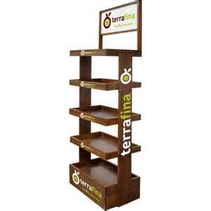 customized wood display rack branded pop displays custom