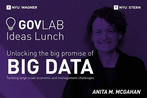 Nyu Mba Joint by Mcgahan Unlocking The Big Promise Of Big Data