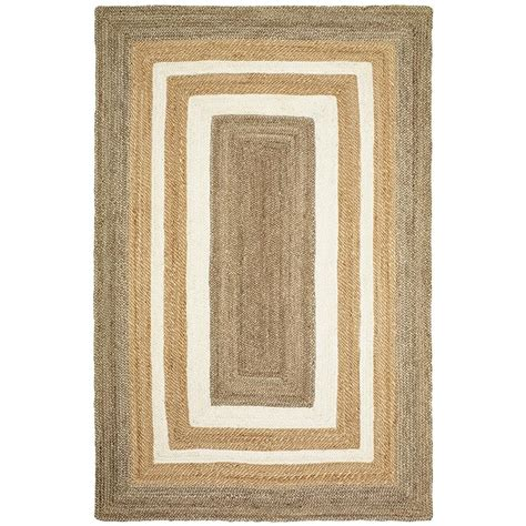 bleaching a rug nuloom hailey jute bleached 8 ft x 10 ft area rug on01b 8010 the home depot
