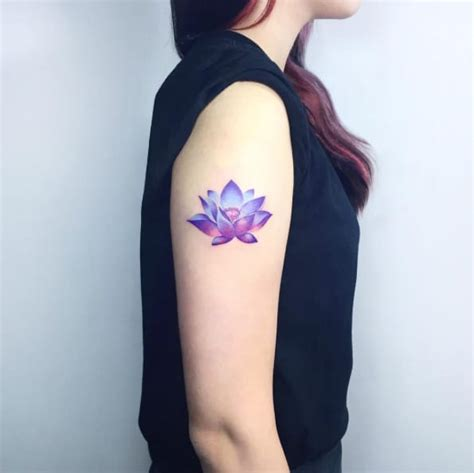 small lotus flower tattoos  meanings march