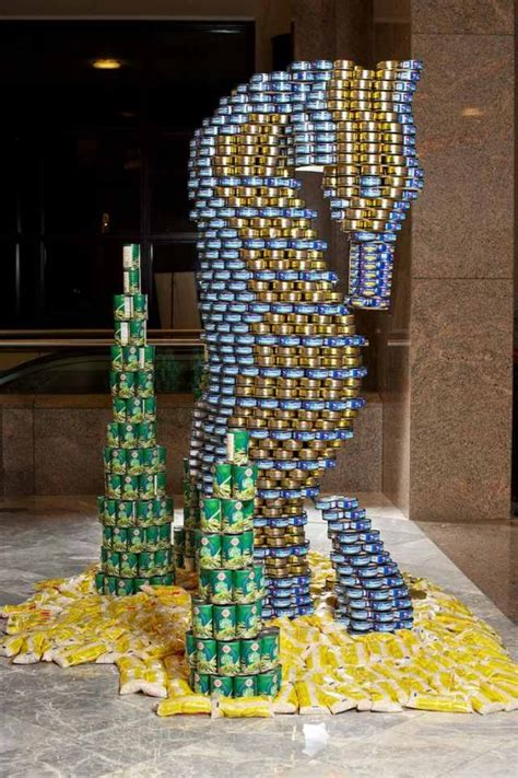 can sculpture food sculptures 12 things you can make with tin cans