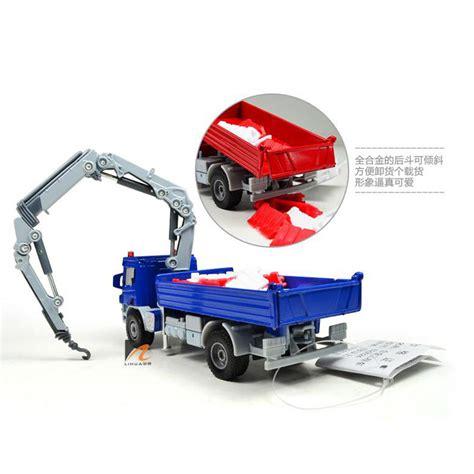 Diecast Truck Crane new kdw 1 50 scale diecast atego with crane truck vehicle