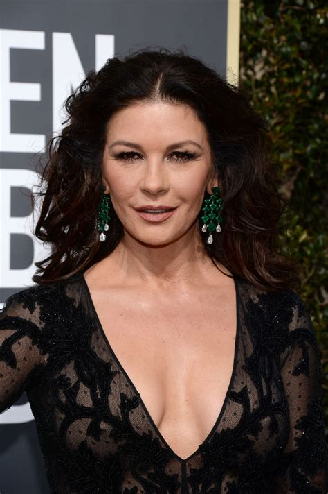 catherine zeta jones catherine zeta jones at 75th annual golden globe awards in