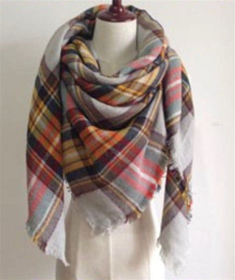 25 fall scarves ideas on plaid scarf