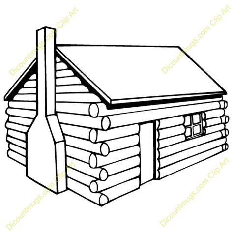 wood house coloring pages log cabins coloring pages