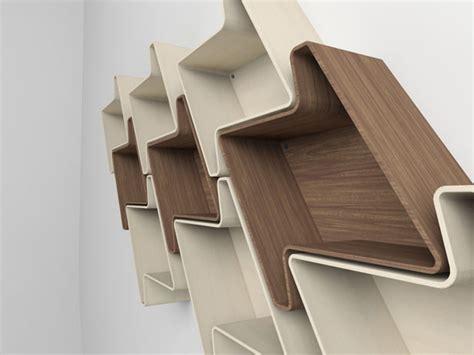 modular wall shelves pied de poule modular wall shelf system by julia quancard