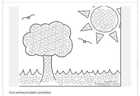 Q Tip Coloring Pages by Thoughts My Pony Q Tip Painting