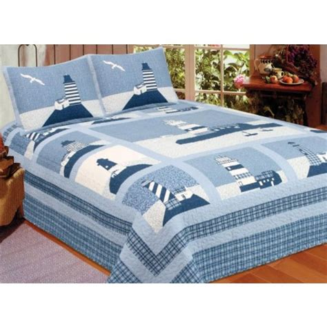 Lighthouse Comforters by Nautical Bedding Sailing Comforters Lighthouse
