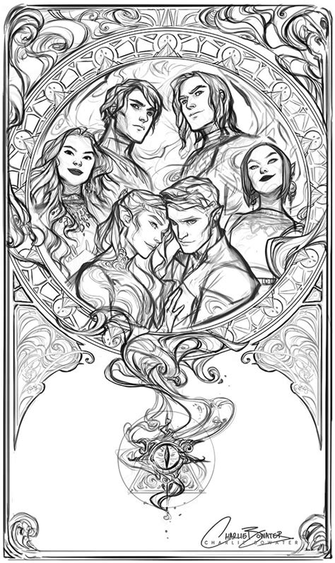 Gorgeous WIP by Charlie Bowater of the inner circle