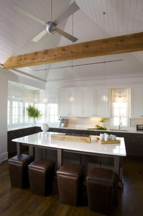 ottoman  bar stool transitional kitchen tracery
