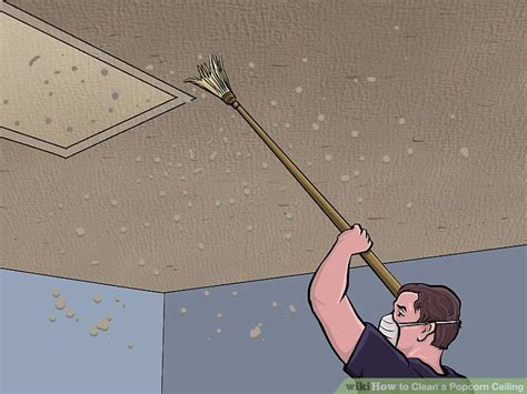 3 ways to clean a popcorn ceiling wikihow
