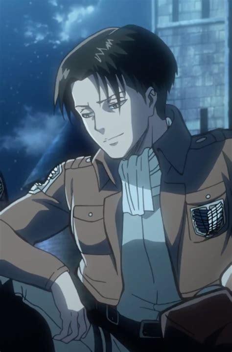 anime attack on titan ova attack on titan birth of levi ova 2 smiling by