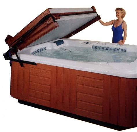 jacuzzi bathtub accessories hot tub cover lifters and spa cover lifts