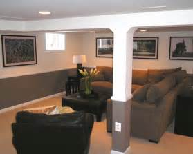 inspiring living room basement ideas