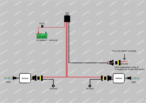 install hid conversion kit relay harness wiring