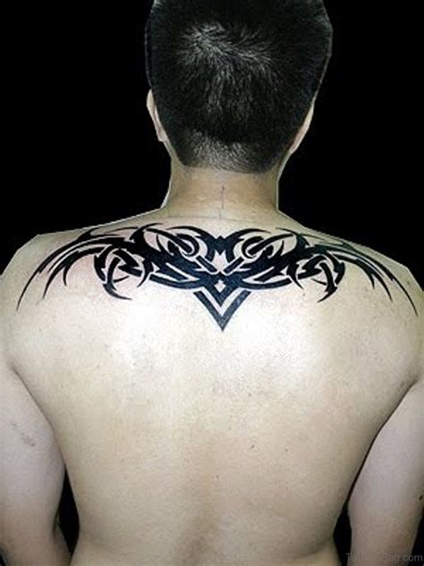 tribal tattoo upper back 60 marvelous back tattoos for