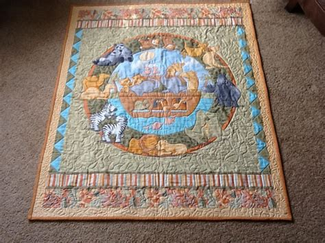 Quilting Panel by You To See Noah S Ark Panel Quilt On Craftsy
