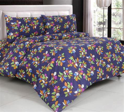 Sprei Bed Cover Katun Jepang 1 sprei katun jepang blue bells warungsprei