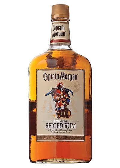 a pint of captain captain original spiced rum