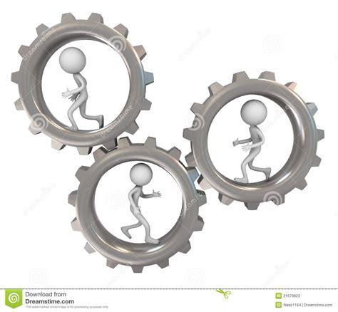 imagenes en movimiento de engranajes hombres 3d y engranajes fotos de archivo imagen 21679823