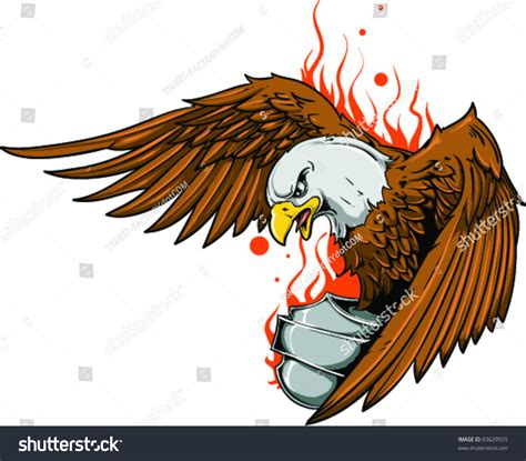 tattoo eagle vector vector tattoo eagle stock vector 83629555 shutterstock