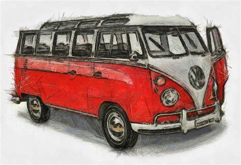 volkswagen painting vw print painting by georgi dimitrov