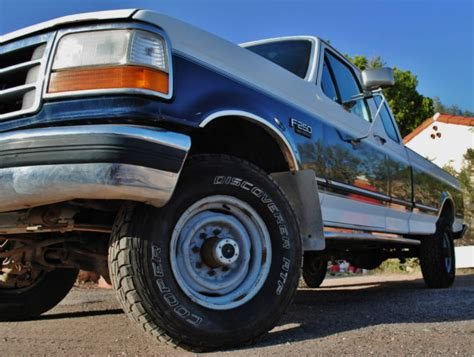 old car manuals online 1992 ford f250 parking system 1992 ford f 250 7 3l idi diesel 4x4 xlt f250 truck long bed super cab clean for sale in phoenix