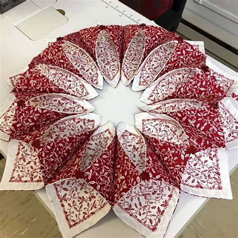 fabric crafts patterns fold n stitch wreath pattern fabric company