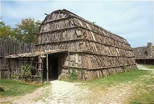 huron longhouse
